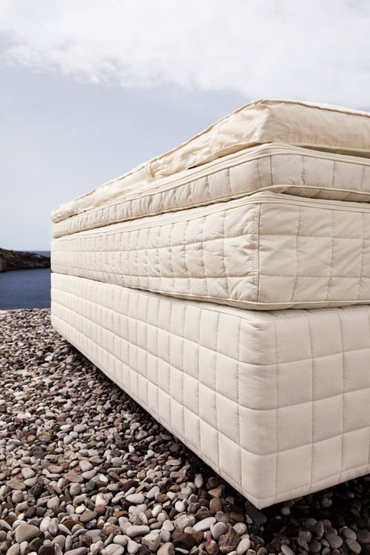 The COCO-MAT four-layer bed is the result of years of experience in mattress-making. It combines four top products in one innovative bed system: bed-mattress, mattress, natural rubber top-mattress and goose down topper, four different types of mattresses with unique properties. Thus we are able to achieve what we set out to do: provide perfect support to our resting body, to the last point! #Sleep #Nature #COCOMAT