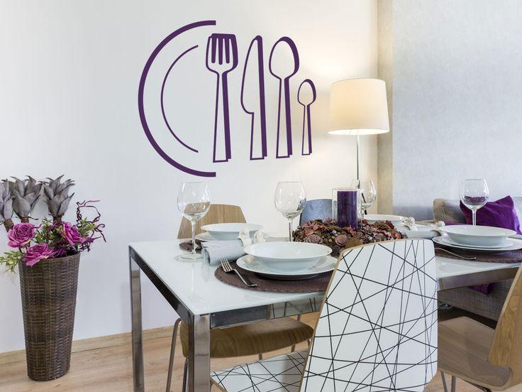 16 best Wandtattoos für Küche und Esszimmer images on Pinterest
