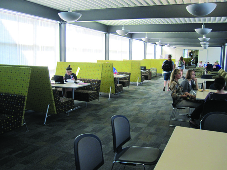 How steelcase redesigned the 21st century college for Redesign office space