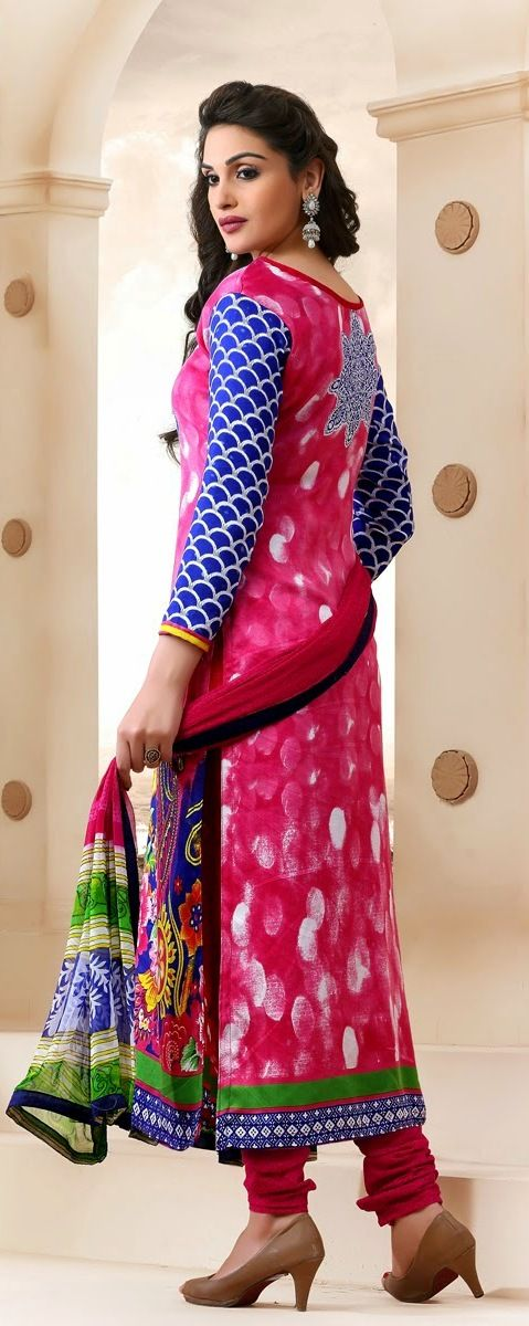 #churidar suits, churidar salwar suits, #churidar suits online, #Salwar #Kameez Online Shopping, blue pink #gorgette #churidar online, #anarkali suits shopping, #Pashmina #Salwar #Suits, patiala salwar suits online