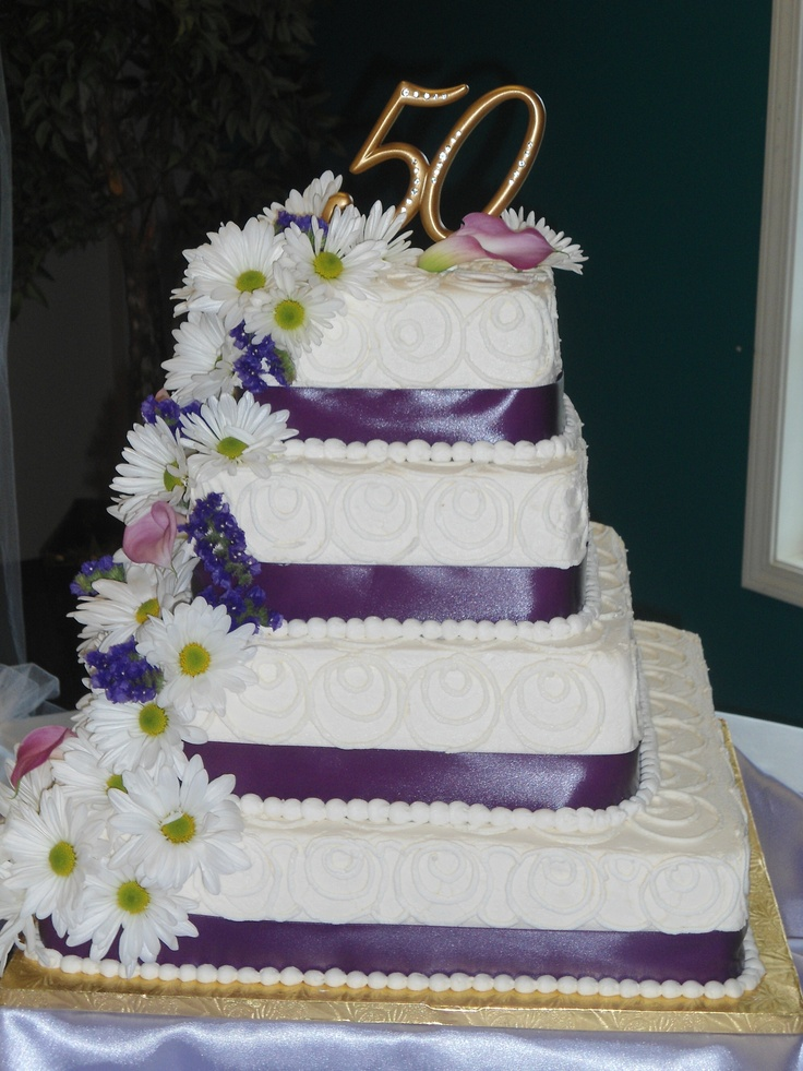50th Wedding Anniversary Cake For 200 Pound Cake With