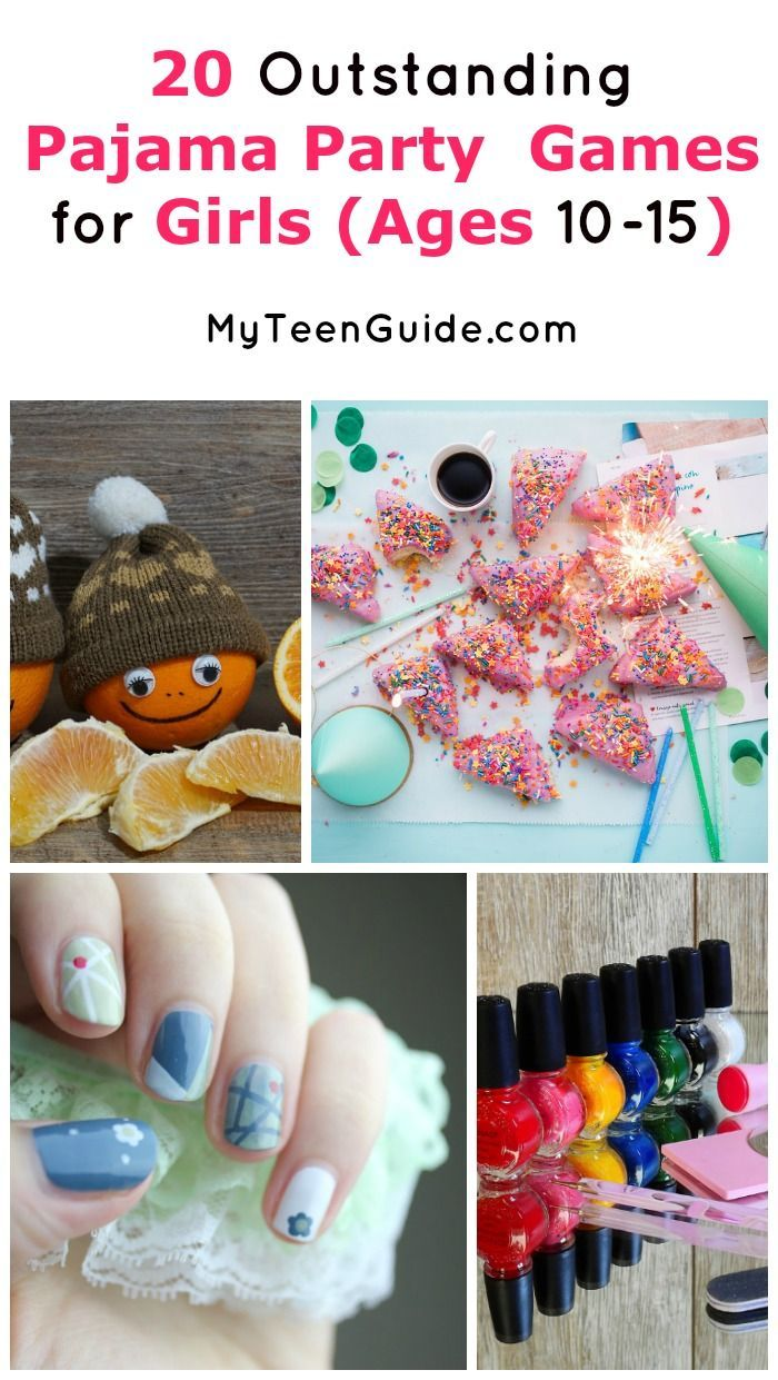Host The Best Sleepover Party With These 20 Epic Games For Girls