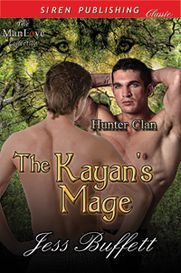 Looking for a great M/M shifter romance then be sure to check out The Kayan's Mage [Hunter Clan 1] by Jess Buffett http://www.jessbuffett.com/hunter-clan.html