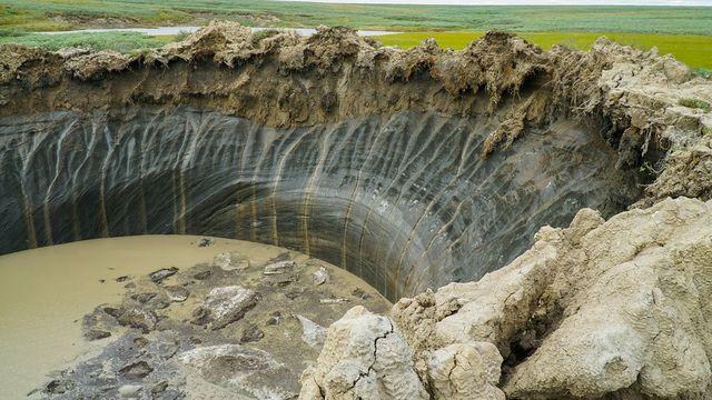 Megfejtették a titokzatos szibériai kráterek rejtélyét! Nem fogsz örülni neki!!