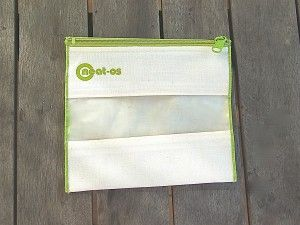 """neat-os - reusable """"plastic"""" baggies. kinda expensive but maybe one day..."""