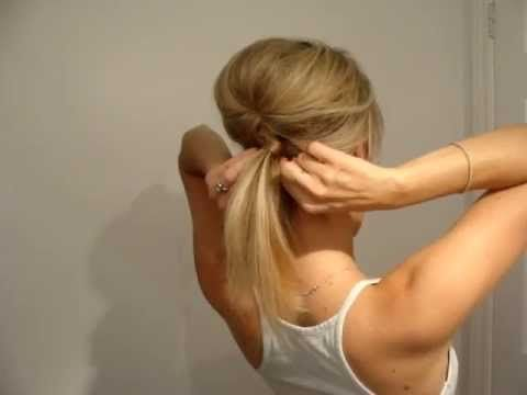 Poofy Ponytail! This video is perfect for getting your long hair style into a nice big volume max ponytail.