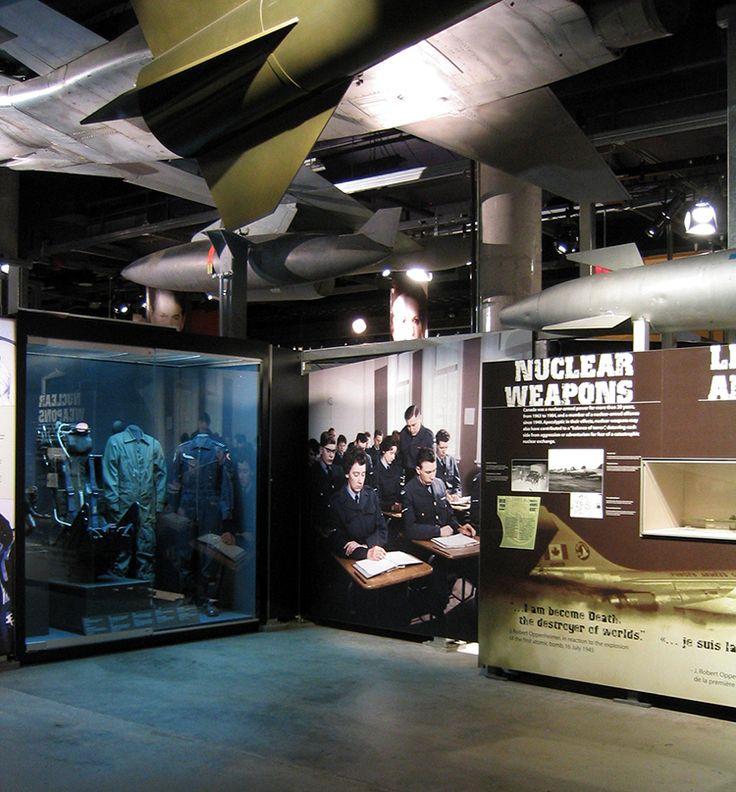 Nuclear Weapons, Permanent Exhibitions, Canadian War Museum,  Exhibit Design by: Origin Studios Inc.