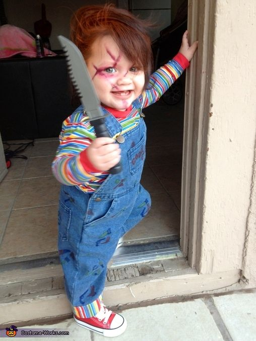 Chucky Costume...doing it!