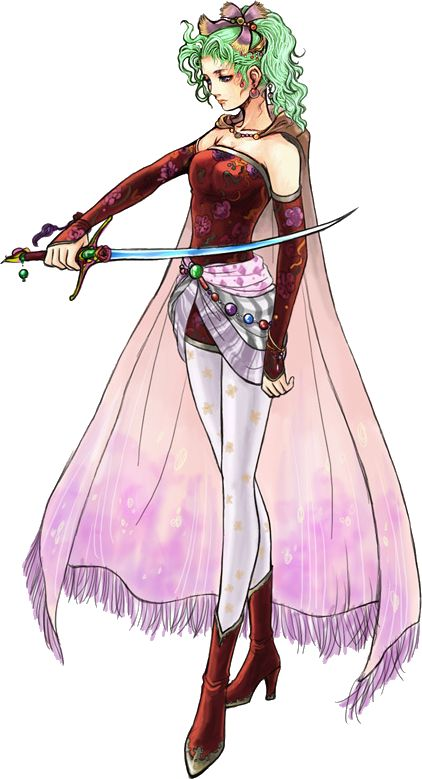 fantasy character green hair - Google Search