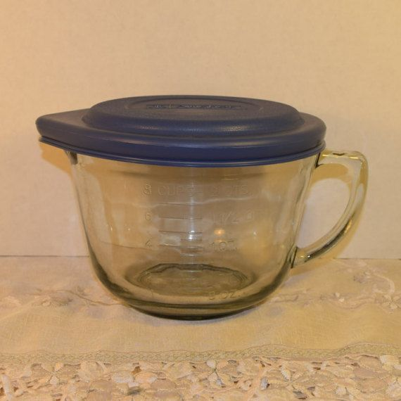 Anchor Hocking 8 Cup Measuring Bowl Lid by ShellysSelectSalvage