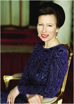 A nice shot of Princess Anne, The Princess Royal.  She looks so lovely and... not scary!