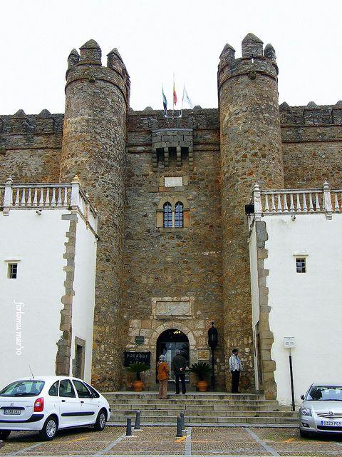 Zafra (Badajoz) castillo-hotel