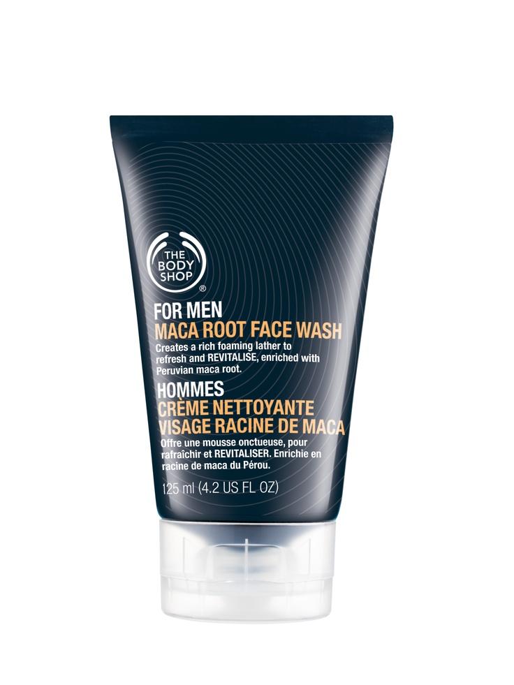 Żel do mycia twarzy przeznaczony dla mężczyzn. Posiada w swoim składzie korzeń maca root, aby dodać energii, a także mentol – łagodzący - podrażnienia oraz witaminy A, B i E, które zapewniają ochronę i prawidłowy poziom nawilżenia skóry. Dodatkowo występuje również olej z orzechów, który nawilża i zmiękcza skórę. Po jego zastosowaniu skóra jest doskonale przygotowana do dalszego przyjęcia kosmetyków np. kremu. Pojemność żelu wynosi 125 ml.