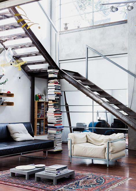 loft | windows and stairs
