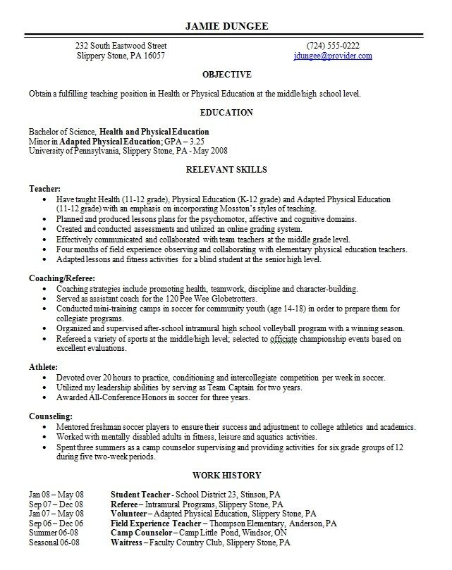 The 25+ best Resume outline ideas on Pinterest Resume, Resume - what looks good on a resume