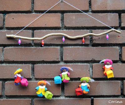 Viltcreaties Corina: Sinterklaas