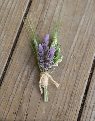 This is what we've decided for boutonnières