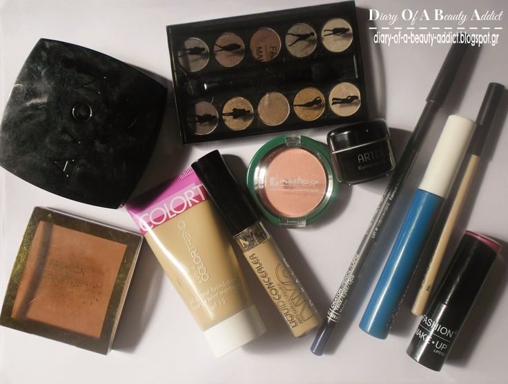 FASHION MAKE UP products: Review   Look
