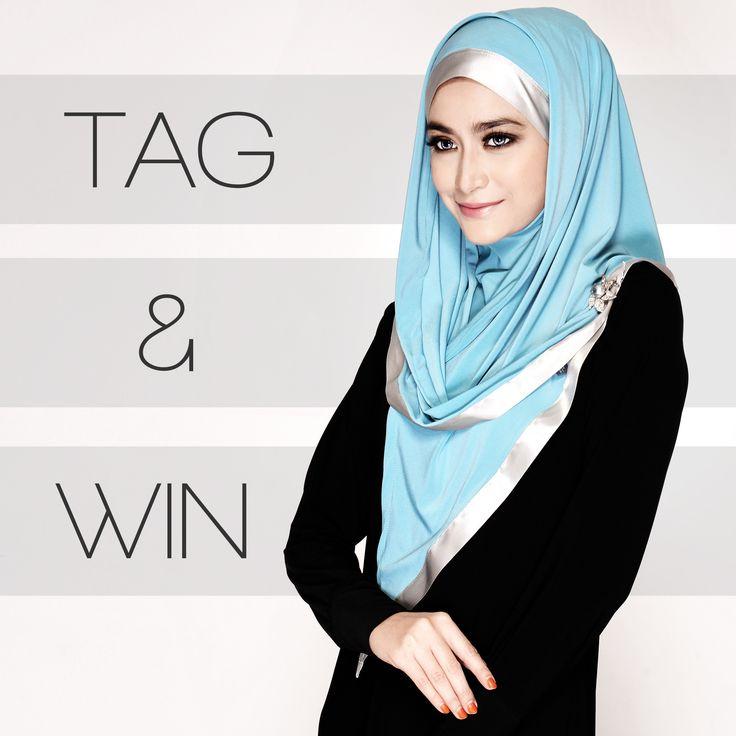 As' salam lovelies, HerStyle masih baru di Instagram! Bermula hari ini kami akan berikan #giveaway #signature #Maria #Hijab #percuma kepada 'tagger' bertuah bersama dua rakan yang di'tag' pada imej instagram ini http://instagram.com/p/s_64KYM1__/, dan yang paling best anda boleh memilih warna kesukaan anda di laman www.HerStyle.my. Pemilihan 'tagger' bertuah adalah secara 'random' tanpa mengira waktu anda tag! So #taglajulaju okay!