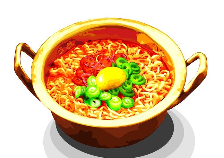 10,000원에 원하시는 음식 이미지를 사진보다 더 먹음직스럽게 그려 드립니다.