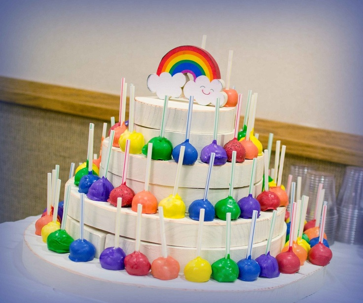 Rainbow Cake Decorations Uk : Best 25+ Rainbow cake pops ideas on Pinterest Pop uk ...