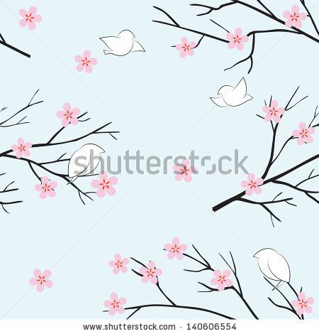 Pink Cherry Blossom Bird Stock Photos, Pink Cherry Blossom Bird Stock Photography, Pink Cherry Blossom Bird Stock Images : Shutterstock.com