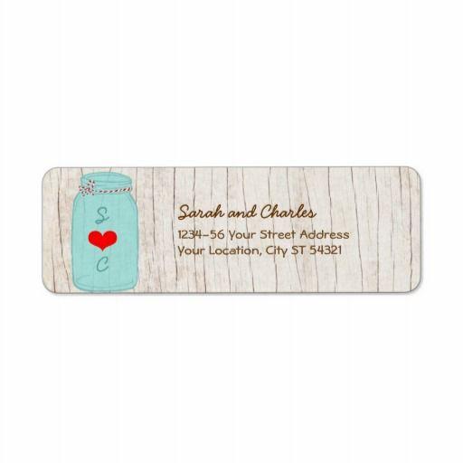 return labels for wedding invitations