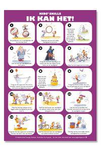 Kids' Skills: ik kan het poster