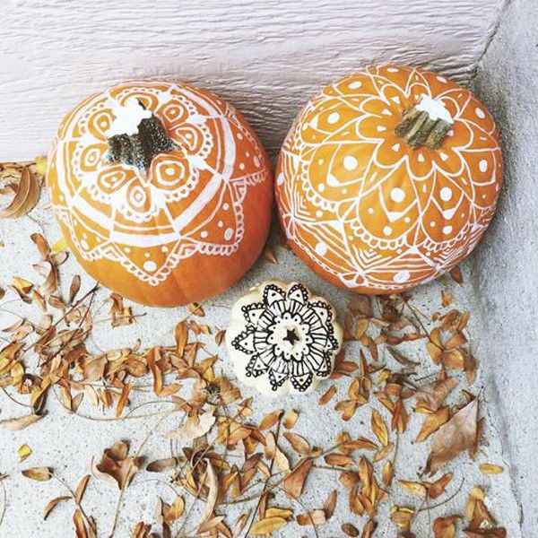 Fall For Boho - These Creatively Decorated Pumpkins Are Life - Photos