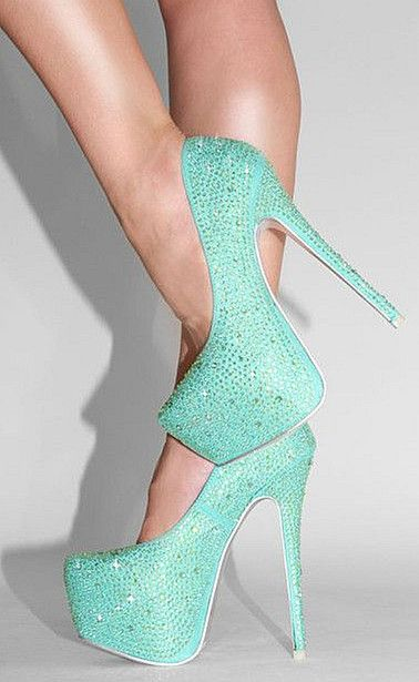 glamorous high heels that dazzle me.