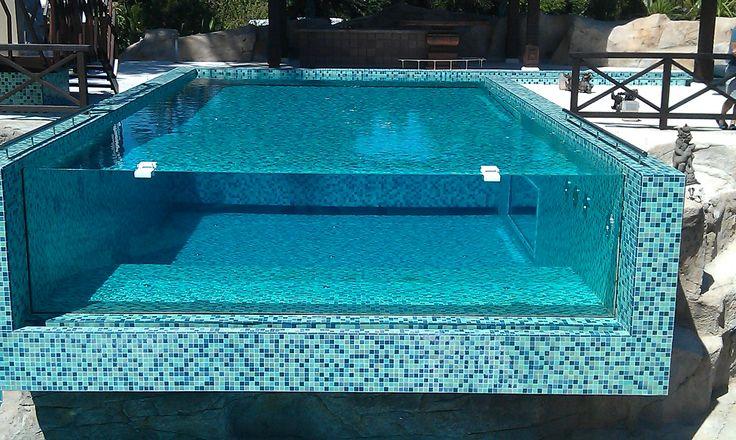 Instalaci n de piscina con plancha de policarbonato for Instalaciones de albercas pdf