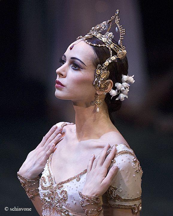 La Bayadere- Diana Vishneva.   Mariinsky Ballet.