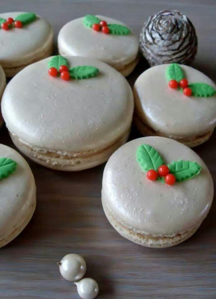Festive Christmas Macarons recipe