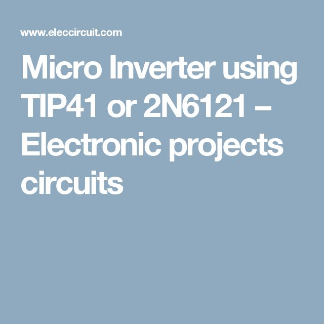 The 7 best power electronic project images on Pinterest ...