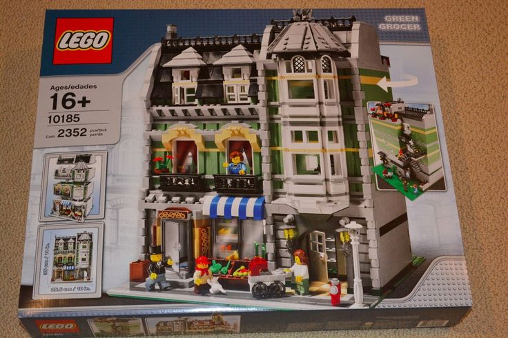 LEGO Creator Green Grocer (10185)  BRAND NEW IN FACTORY SEALED BOX!!