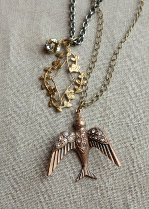 187 Best Assemblage Jewelry Necklace Images On Pinterest