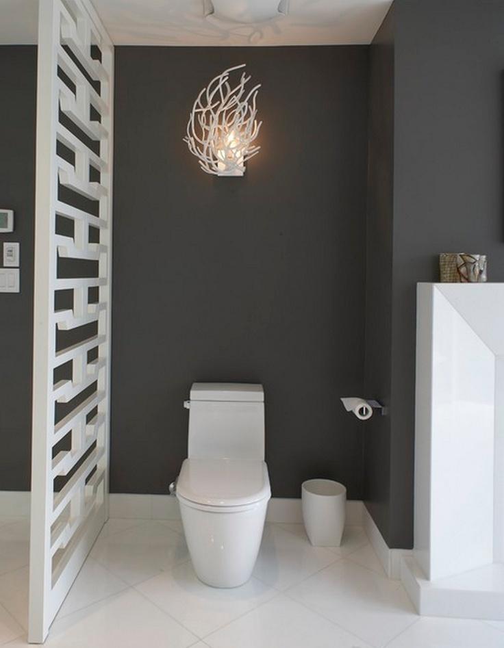Interesting light for bathroom