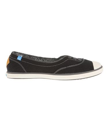 This Black Freckle Slip-On Sneaker by Freewaters is perfect! #zulilyfinds
