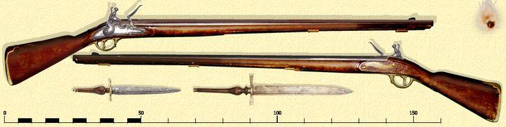 Infanteriegewehr vor 1729