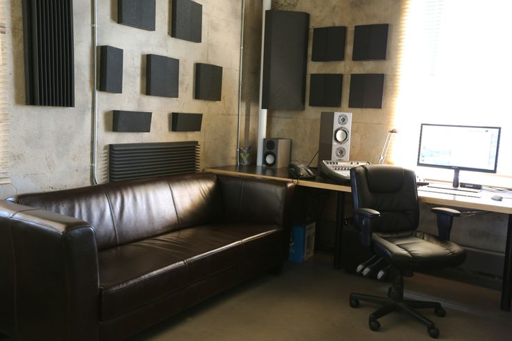 Video editing suite office