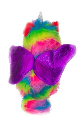 Adorable rainbow butterfly wings unicorn kitten hats and Costumes.