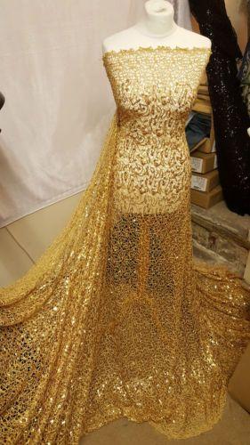1M-GOLD-SPIDER-WEB-SEQUIN-NET-BRIDLE-DRESS-FABRIC-55-034-WIDE