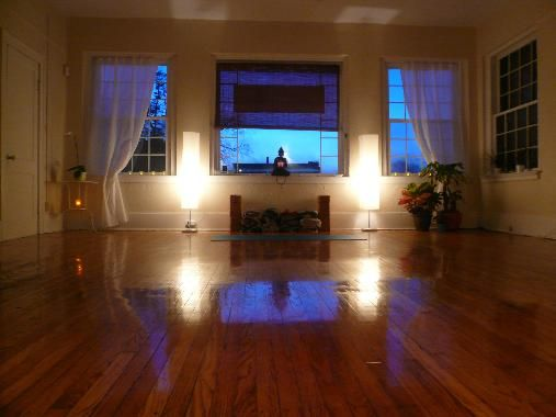 amazing home yoga studio its all a matter of how you use the space and - Home Yoga Room Design