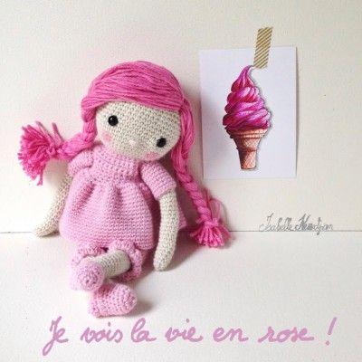 Ma poupée au crochet Isabelle Kessedjian