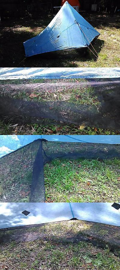 Blind and Tree Stand Accessories 177912: Zpacks Hexamid Solo Plus Tarp With Netting -> BUY IT NOW ONLY: $375 on eBay!