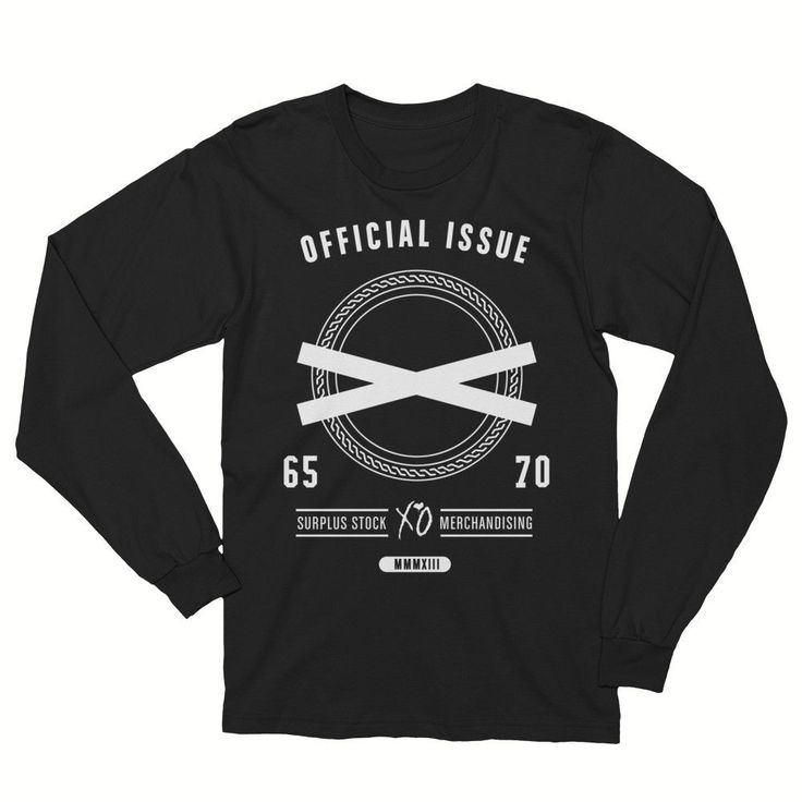 XO - The Weeknd - Official Issue Unisex Black Crew Neck Sweatshirt -  #Black #kanyewestsmom #tde #hat #kanyewestg #antisocialclubjambi #yeezusisagemini #Yeezustour #yeezusft #Yeezusshirt