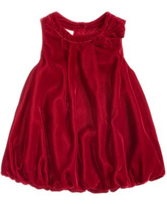 First Impressions Velvet Bubble Dress, Baby Girls (0-24 months), Created for Macy's | macys.com