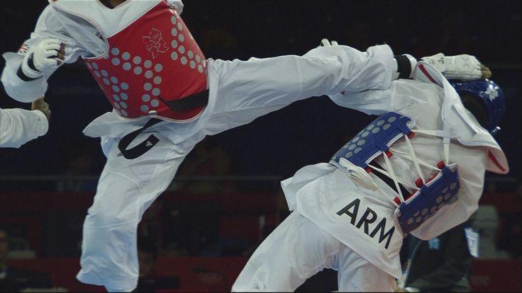 Team GB's Lutalo Muhammad Wins Taekwondo -80kg Bronze - London 2012 Olym...