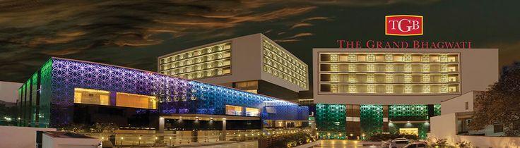 Night View of The Grand Bhagwati Surat Hotel