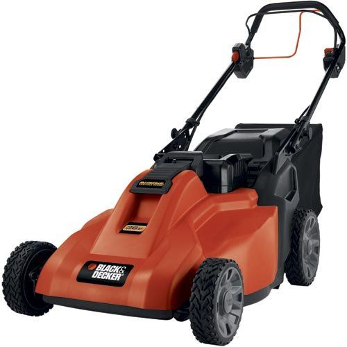 Best Lawn Mowers Comparison 2015 | CrowdBest.com • Black & Decker SPCM1936 19-Inch 36-Volt Cordless Electric Self-Propelled Lawn Mower With Removable Battery